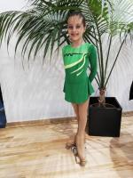 Bruna Silva  no Torneio Nacional de Benjamins