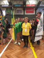 Patinadoras do CDTN, orgulhosamente, na Taça de Portugal